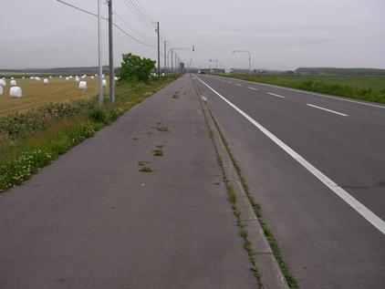 02_まっすぐな道